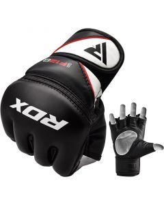 RDX F12 Small Black Leather X Training MMA Gloves