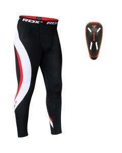RDX MO Compression Flex Trouser & Groin Cup Grey Small