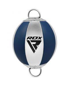 RDX O1 Blue Leather Pro Double End Bag