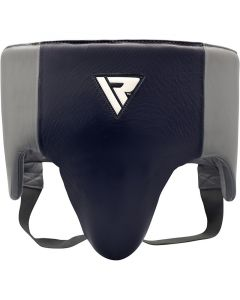 RDX O1 Small Blue Leather Pro Groin Guard