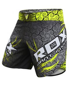 RDX R11 MMA Shorts Green Small