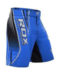 RDX R12 Blue Small MMA Shorts