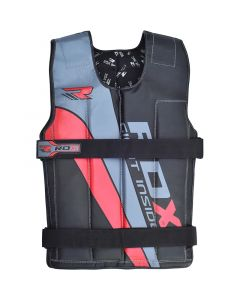 RDX R1 10-18Kg Red Cordura Weighted Vest