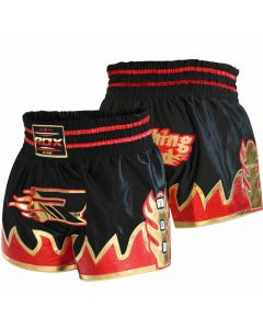 RDX R2 Ultra Crimson Satin Short de Muay Thai