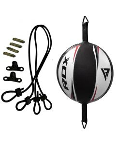 RDX R3 White Leather Floor to Ceiling Ball & Rope