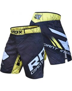 RDX R4 Extra Small Yellow Polyester MMA Shorts