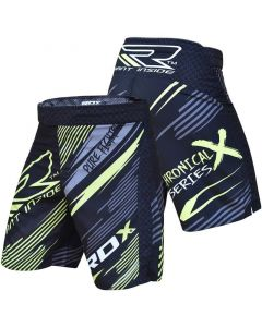 RDX R5 Chronical Series Extra Small Blue Polyester MMA Shorts