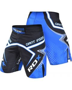 RDX R7 Giant Inside Extra Small Blue Polyester MMA Shorts