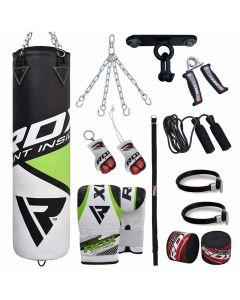 RDX Боксерский набор из 13 товаров с мешком и перчатками