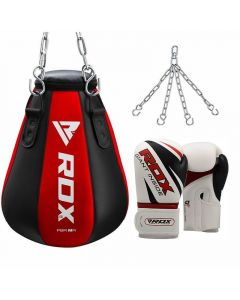 RDX MR Maize Punching Bag With Bag Gloves Filled 12oz