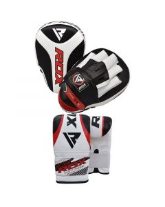 RDX 1R Focus Pads with Bag Gloves