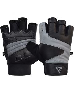RDX S14 Ferris Gym Gloves Small Grey