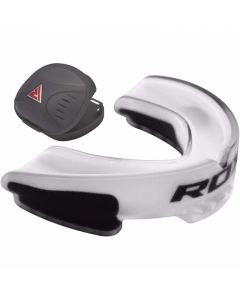 RDX 3WA Adult White Rubber Gum Shield Mouth Guard