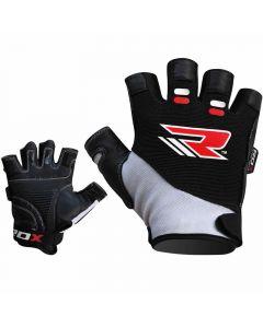 RDX S3 Small white Amara Hector Gym Gloves