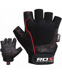 RDX S4 Armada Small Black Amara Gym Gloves