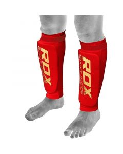 RDX SG Small Red Hosiery Shin Guards