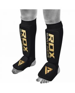 RDX SI Medium Black Hosiery Shin Instep Guards