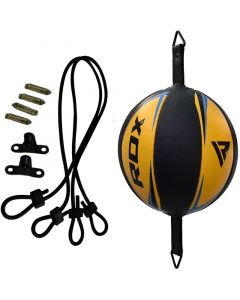 RDX R3 Yellow Leather Floor to Ceiling Ball & Rope
