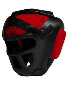RDX T1 Combox Small Red Leather X Full Face Head Guard