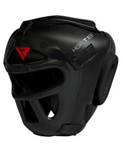 RDX T1 Combox Small Black Leather X Full Face Head Guard