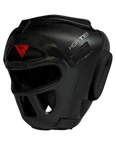RDX T1 Combox Small Black Leather X Full Face Head Guard