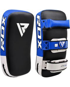 RDX T1 Blue Leather X Curved Thai Pad
