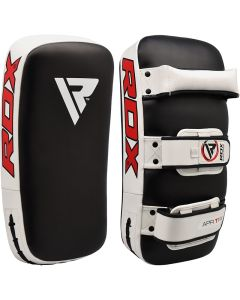 RDX T1 White Leather X Curved Thai Pad