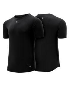 RDX T1 Small Black Polyester Short Sleeve T Shirt