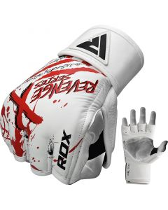 RDX T8 Revenge X Small White MMA Gloves