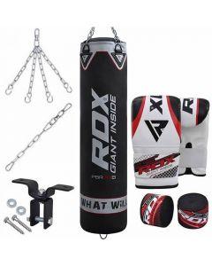 RDX X1 8pc Punch Bag & Boxing Set