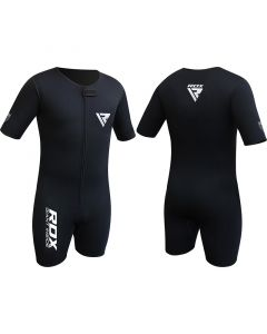 RDX X1 Medium Black Elegant Flex Neoprene Compression Shirt