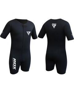 RDX X1 Medium Black Elegant Flex Neoprene Compression Shirt