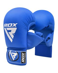 RDX X1 Taekwondo Mitts Blue Small