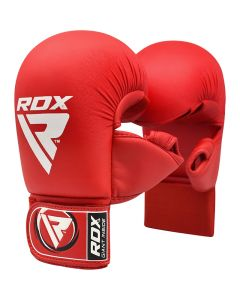 RDX X1 Taekwondo Mitts Red Small