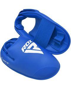 RDX X2 Semi Contact Taekwondo Boots Blue Small