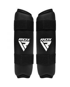 RDX X2 Taekwondo Shin Pads Black Small
