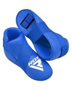 RDX X3 Taekwondo Boots Blue Medium