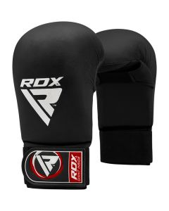 RDX X3 Taekwondo Semi Contact Mitts Black Small