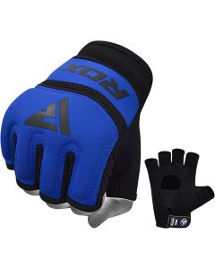 RDX X6 Inner Gloves Blue Small