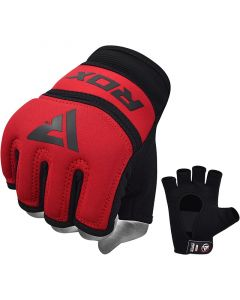 RDX X6 Inner Gloves Red Small