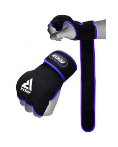 RDX X8 Inner Hand Gloves With Wrist Strap Blue S