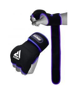 RDX X8 Inner Hand Gloves With Wrist Strap Petit Bleu