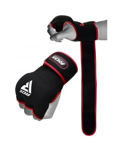 RDX X8 Small Red Neoprene Inner Hand Gloves With Wrist Strap