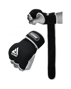 RDX X8 Inner Hand Gloves With Wrist Strap Small blanc