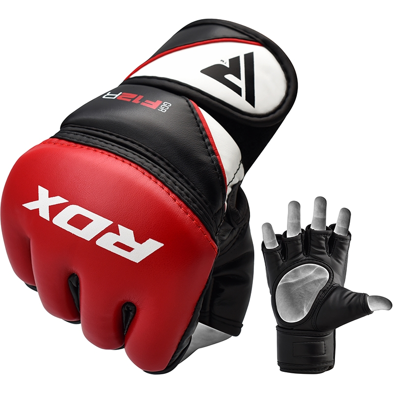 RDX_F12_Extra_Large_Red_Leather_X_Training_MMA_Gloves