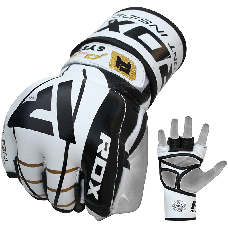 RDX_F3_Extra_Large_Golden_Leather_MMA_Gloves