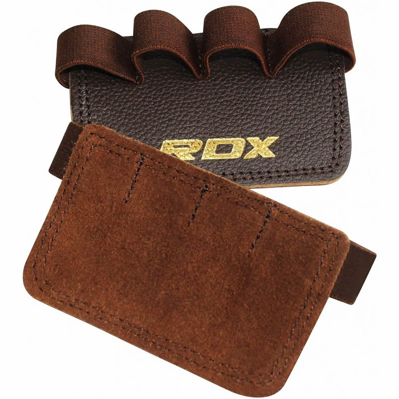 RDX_G3_Brown_Leather_Hand_Grip_Pads