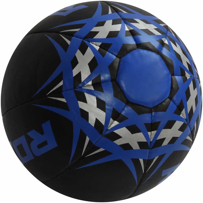 RDX KU Blue Fitness Medicine Ball