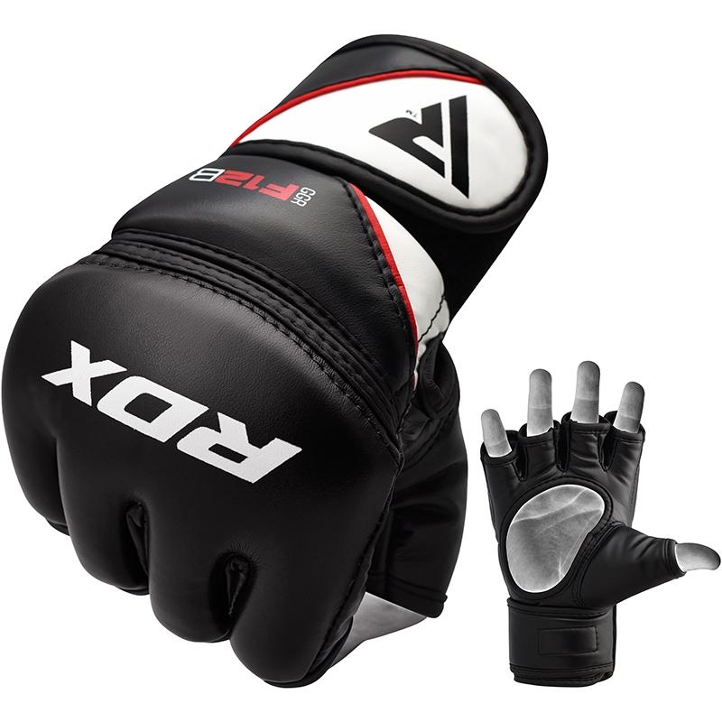 RDX_F12_Extra_Large_Black_Leather_X_Training_MMA_Gloves
