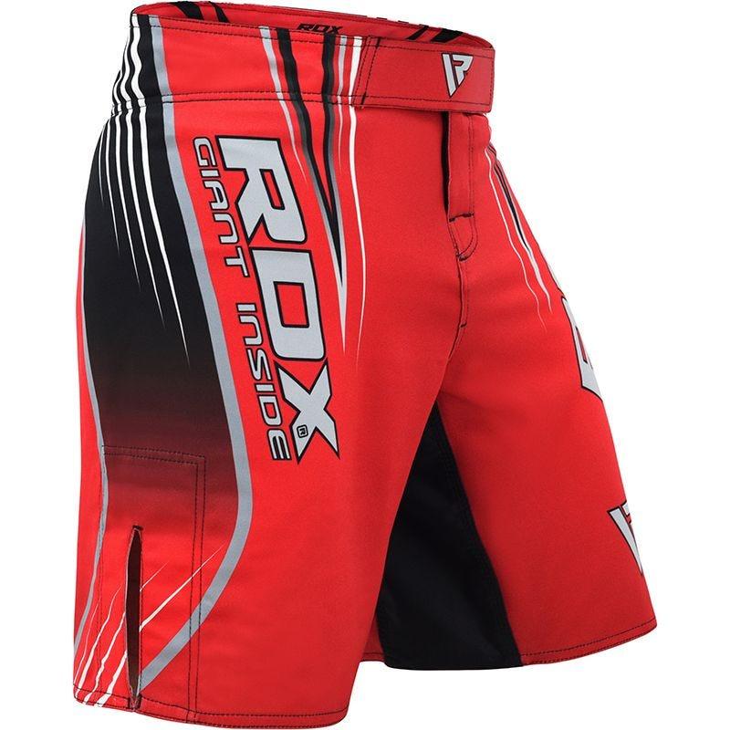 RDX R12 MMA Kurze Hose L Rot